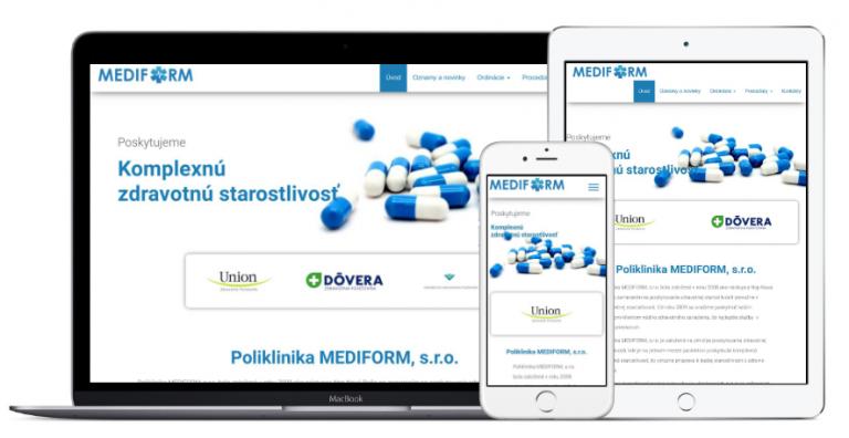 mediform.sk by mkx webdesign